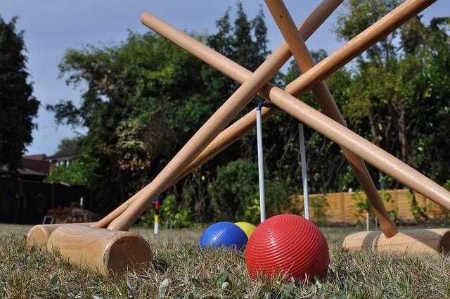 Quels sont les accessoires utiles pour jouer au croquet?